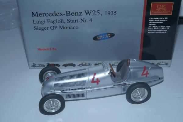 Mercedes-Benz W25 #4 Luigi Fagioli CMC M-104 LE 2.000