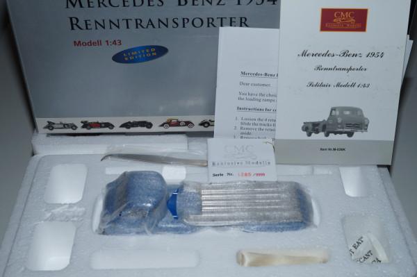 1/43 Mercedes-Benz Renntransporter Das blaue Wunder CMC M-036K