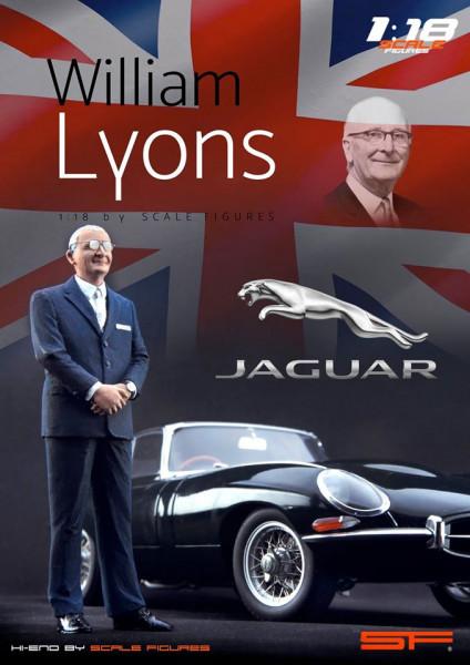 1/18 WILLIAM LYONS von SF Scale Figures - Handarbeit -