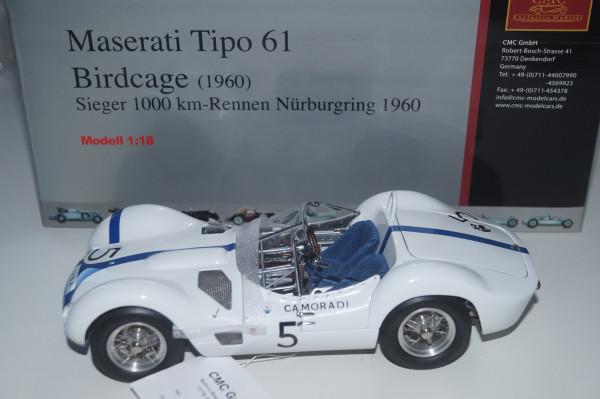 Maserati Tipo 61 Birdcage #5 CMC M-047