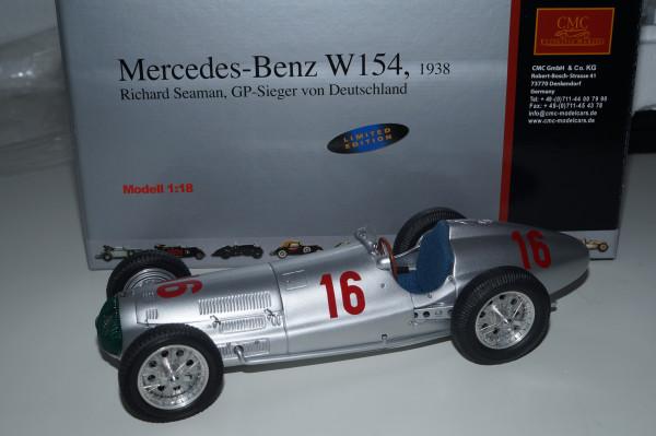 Mercedes-Benz W154 #16 Richard Seaman CMC M-098 LE 3.000