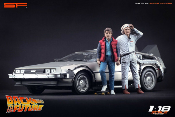 1/18 Back To The Future von SF Scale Figures - Handarbeit -