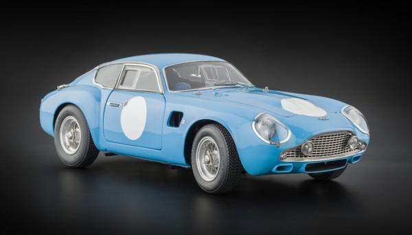 Aston Martin DB4 GT Zagato Rennversion blau CMC M-140 LE 1000 pcs