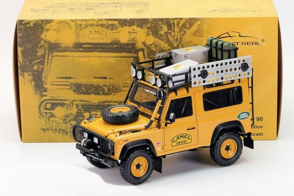 1/18 LAND ROVER DEFENDER 90 CAMEL TROPHY Edition Almost Real 810211