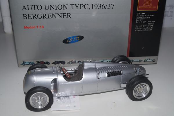 Auto Union Typ C 'Bergrenner' Bernd Rosemeyer CMC M-053