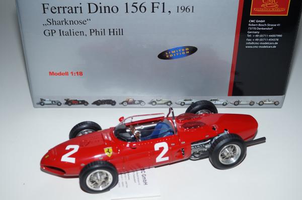 Ferrari 156 F1 'Sharknose' #2 Phil Hill Monza CMC M-068