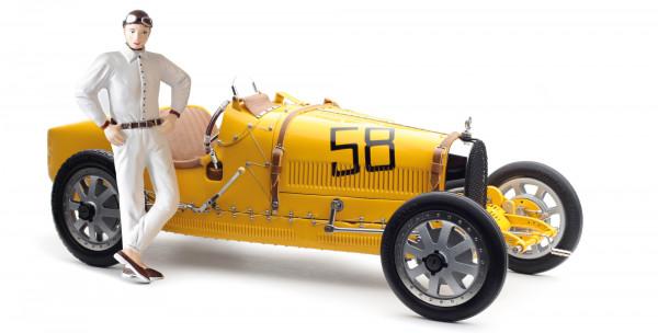 Bugatti T35 #58 Yellow Livery LE 600 St. CMC M-100 017
