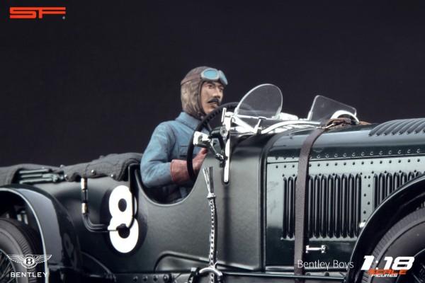 1/18 Rennfahrerfigur TIM BIRKIN von SF Scale Figures - Handarbeit - SF118145