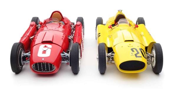 Bundle Ferrari D50 #20 Pilette + Lancia D50 #6 Ascari CMC M-184 LE 1.000