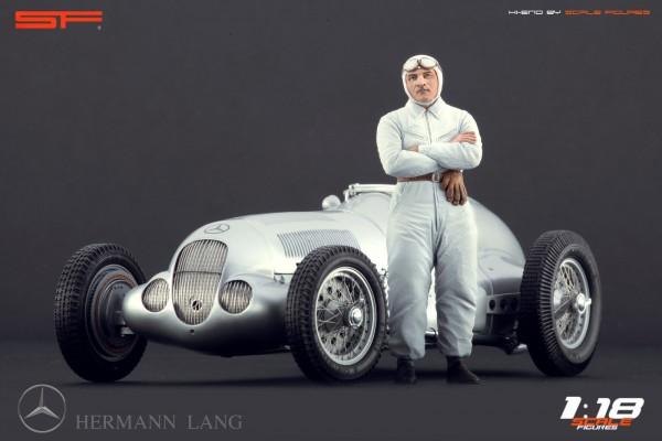 1/18 Rennfahrerfigur HERMANN LANG von SF Scale Figures - Handarbeit - SF118056