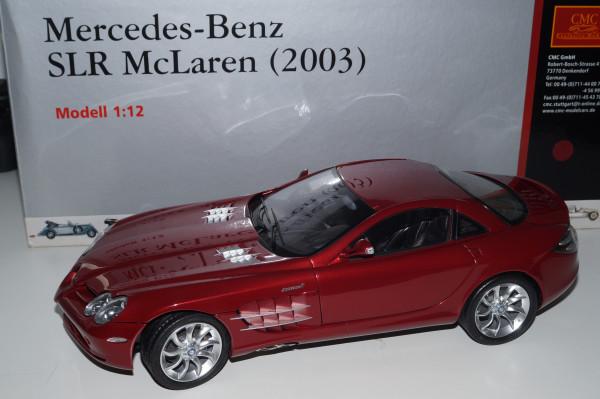1/12 Mercedes-Benz SLR McLaren 2003 ROT CMC C-006A