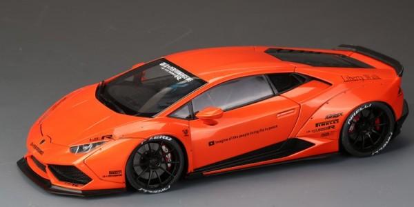 Lamborghini Huracan LB Works Orange Color ALL OPEN ACM008-03