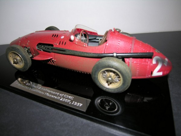 Maserati 250F #2 Dirty Hero collectors edition 20 Jahre CMC M-148 LE 1000 pcs