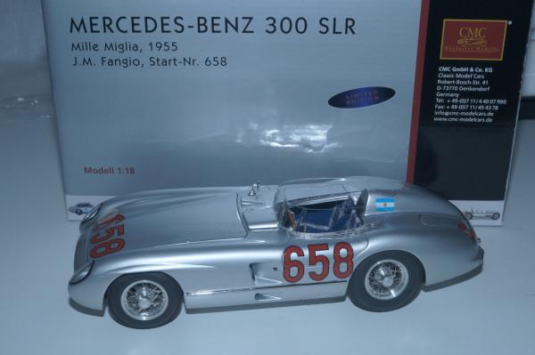 Mercedes-Benz 300SLR #658 J.M. Fangio Mille Miglia 1955 CMC M-117 LE 2.000
