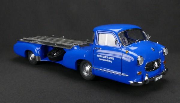 """Mercedes-Benz Renntransporter """"Das blaue Wunder"""" 1954/55 ÜBERARBEITETE VERSION CMC M-143"""