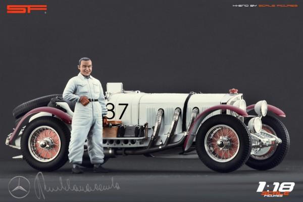 1/18 Rennfahrerfigur RUDOLF CARACCIOLA von SF Scale Figures - Handarbeit - SF118058