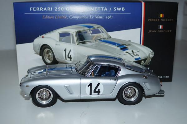 Ferrari 250 GT SWB Competizione #14 24H Le Mans 1961 CMC M-079