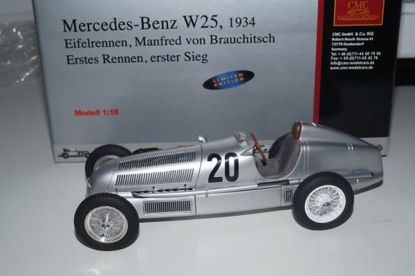 Mercedes-Benz W25 #20 von Brauchitsch CMC M-103 LE 2.000