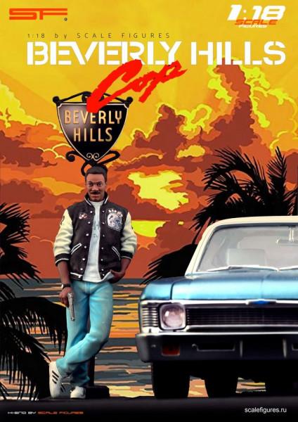 1/18 Eddie Murphy 'Beverly Hills Cop' von SF Scale Figures - Handarbeit -