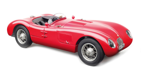 Jaguar C-Type XK023 aktuelle Version Christian Jenny CMC M-193 LE 1.000