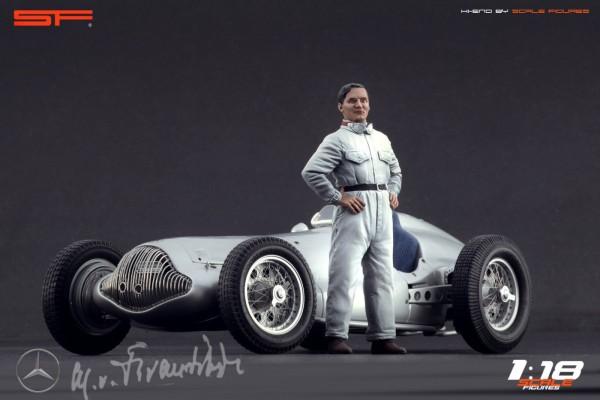 1/18 Rennfahrerfigur MANFRED von BRAUCHITSCH von SF Scale Figures - Handarbeit - SF118062