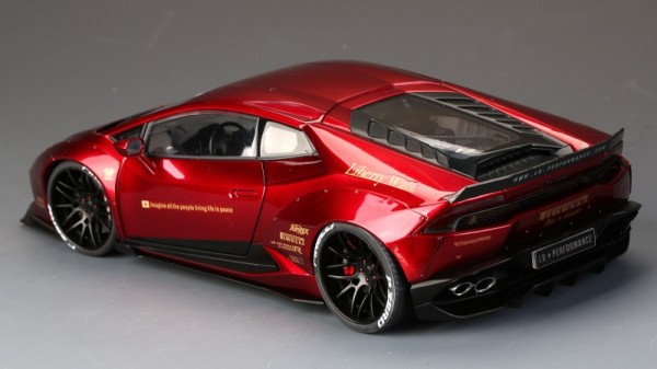 Lamborghini Huracan LB Works Bright Red Color ALL OPEN ACM008-05