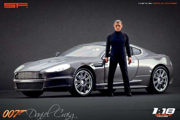 1/18 Daniel CRAIG James Bond 007 von SF Scale Figures - Handarbeit --Copy