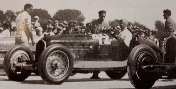 CMC Alfa-Romeo P3 #42 Chiron, Gewinner GP Marseille 1933 LE 1.000