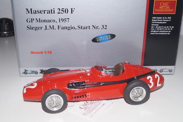 """Maserati 250F #32 GP Monaco """"Fangio"""" CMC M-101"""