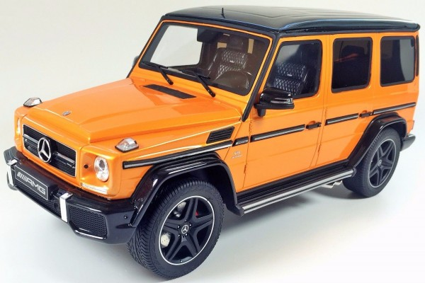 Mercedes AMG G63 Crazy Colours Sunsetbeam Orange GT Spirit B66961016