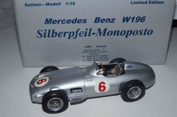 Mercedes-Benz W196 #6 Stirling MOSS CMC M-020 LE 1.000 Stück