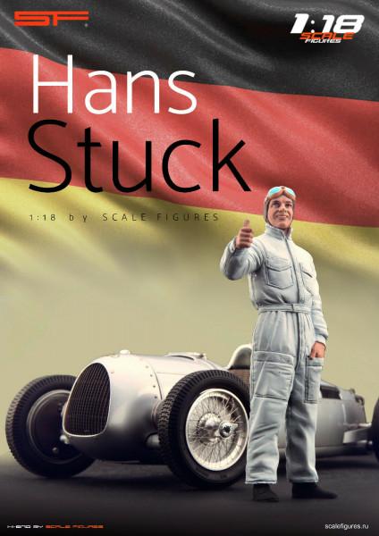 1/18 Hans STUCK von SF Scale Figures - Handarbeit -
