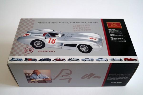 Mercedes-Benz W196R #16 signiert von Stirling Moss, CMC M-059 #0758/800