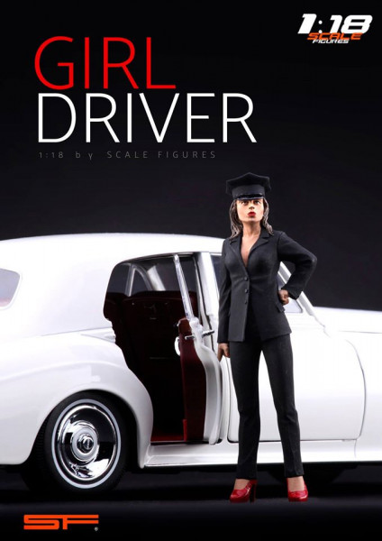 1/18 Girl Driver von SF Scale Figures - Handarbeit-