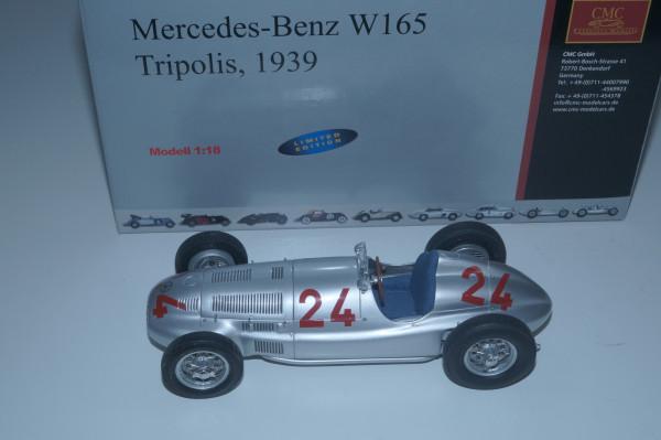 Mercedes-Benz W165 #24 Tripolis CMC M-074 LE 5.000 Stück