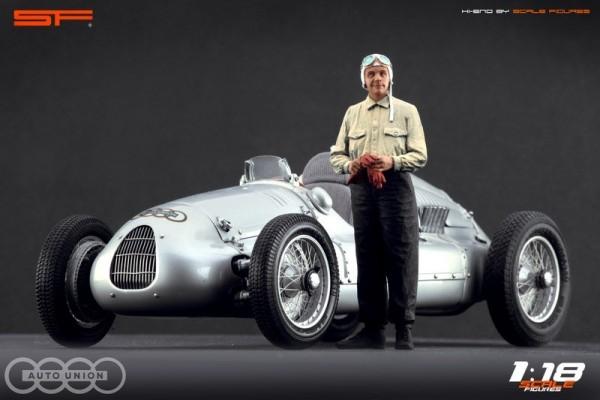 1/18 Rennfahrerfigur BERND ROSEMEYER von SF Scale Figures - Handarbeit - SF118124