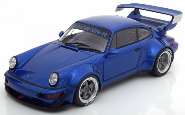 Porsche 911 (964) RWB blau metallic GT Spirit ZM100 LE 504 pcs
