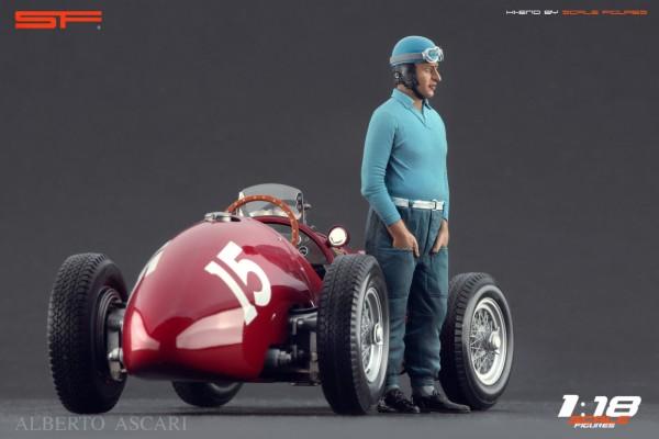 1/18 Rennfahrerfigur ALBERTO ASCARI von SF Scale Figures - Handarbeit - SF118154