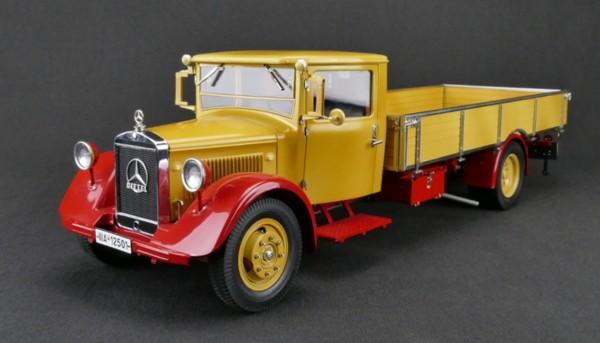 Mercedes-Benz LKW LO 2750 Pritschenwagen gelb rot CMC M-169