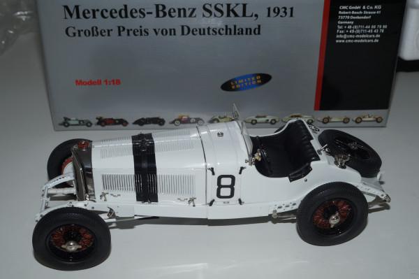 Mercedes-Benz SSKL #8 Großer Preis von Deutschland CMC M-082 LE 4.000