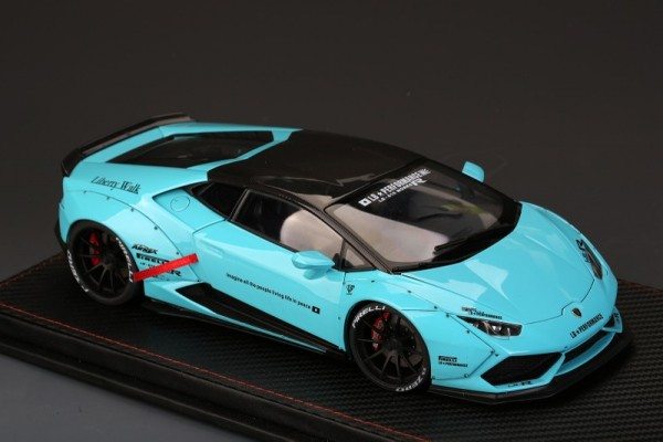 Lamborghini Huracan LB Works Tiffany Blue Color ALL OPEN ACM010