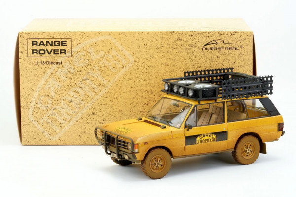 "1/18 RANGE ROVER ""CAMEL TROPHY"" SUMATRA 1981 – DIRTY VERSION von ALMOST REAL"