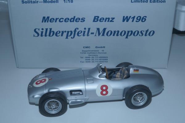 Mercedes-Benz W196 #8 Hans Herrmann CMC M-021 LE 1.000 Stück