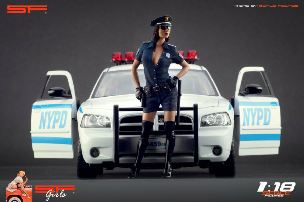 1/18 Police Girl von SF Scale Figures - Handarbeit -