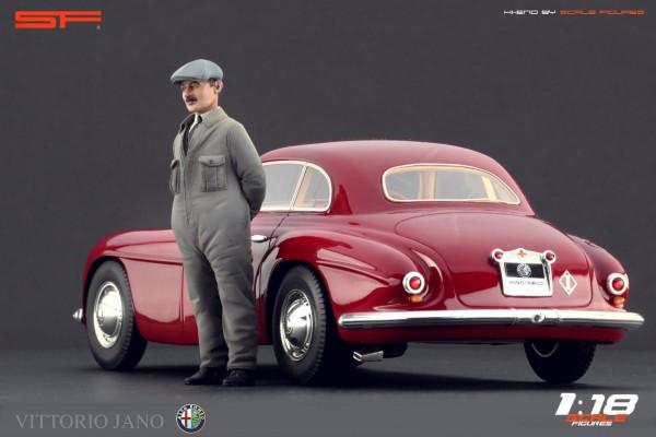 1/18 Figur VITTORIO JANO von SF Scale Figures - Handarbeit - SF118054