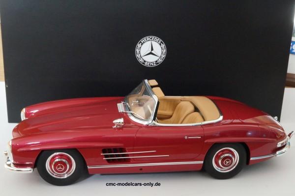 Mercedes-Benz 300 SL Erdbeerrot 1/12 GT Spirit B66040627 Haendlermodell