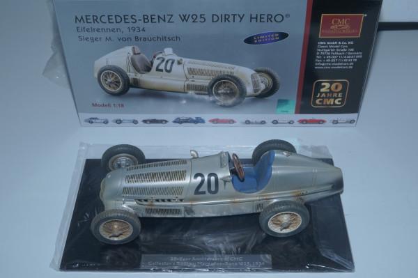 Mercedes-Benz W25 #20 Dirty Hero 20th anniversary CMC CMC M-147 LE 2.000 Stück