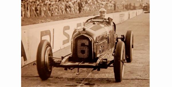 CMC Alfa-Romeo P3 #6 Caracciola, Gewinner GP Monza 1932 LE 1.000