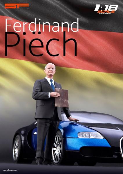 1/18 Ferdinand Piech von SF Scale Figures - Handarbeit -