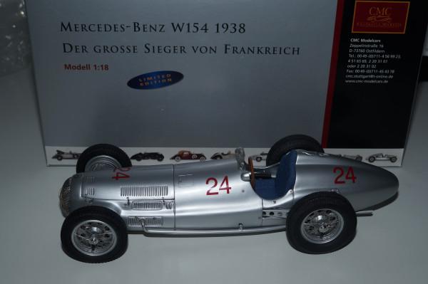 Mercedes-Benz W154 #24 R. Caracciola Sieger von Frankreich 1939 CMC M-038 LE 1.000 Stück